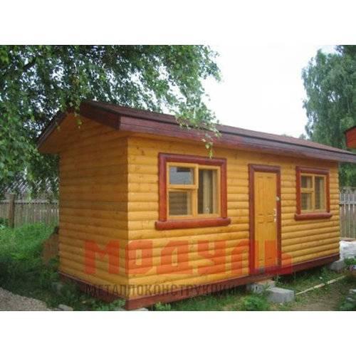 Садовый домик размером 6х3х3 м