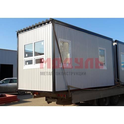 Блок-контейнер размером 6х2.45х2.5 м
