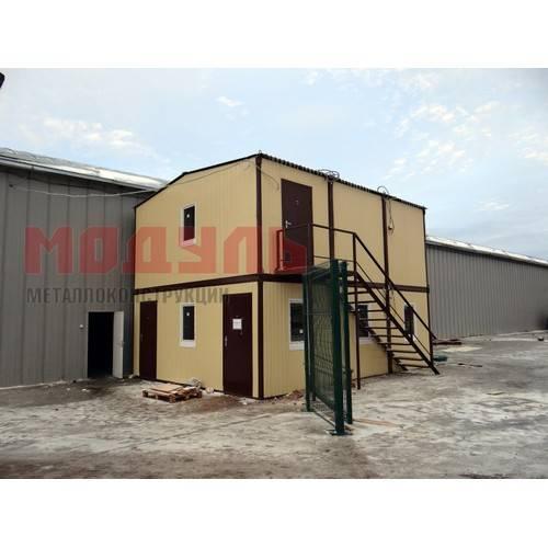 Модульное здание 6х7,5х6 м