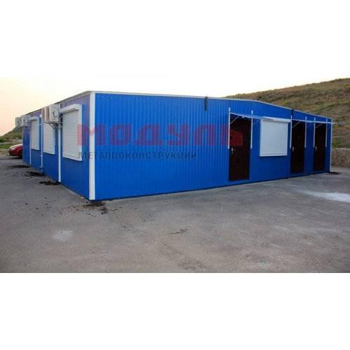модульное здание размером 12х12х3 м