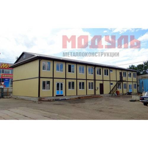 Модульное здание размером 12х30х8 м
