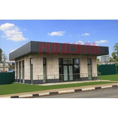 Модульное здание размером 10х10х4 м