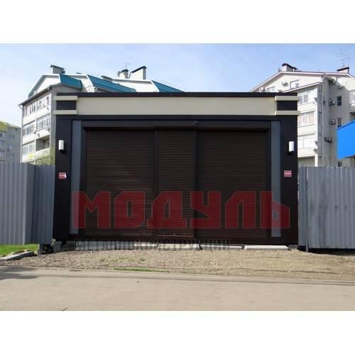 торговый павильон размером 6х4х3,5 м