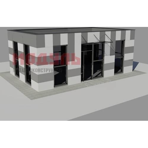 торговый павильон размером 9х7х3,5 м