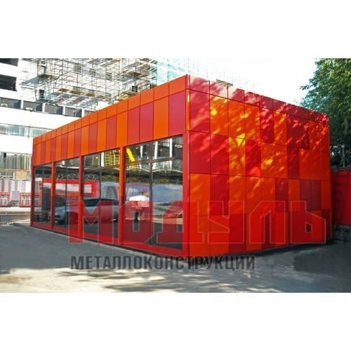 торговый павильон размером 12х6х4 м