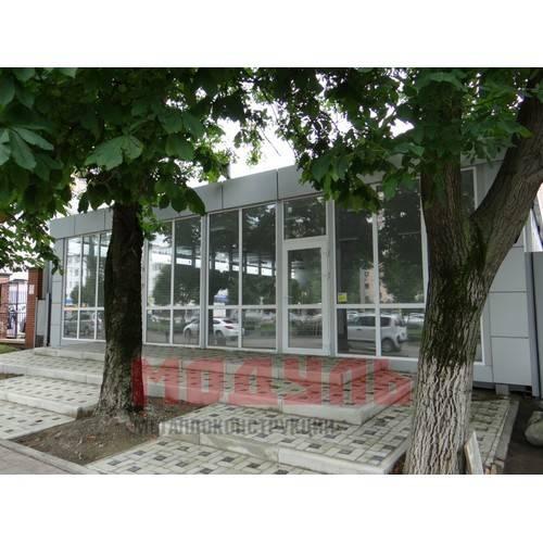торговый павильон размером 12х12х4 м