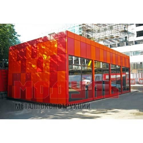 торговый павильон размером 12х7х4,5 м
