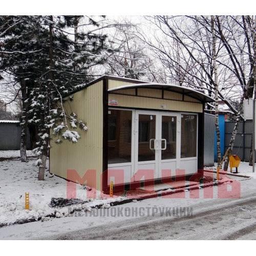 торговый павильон размером 6х4х3 м