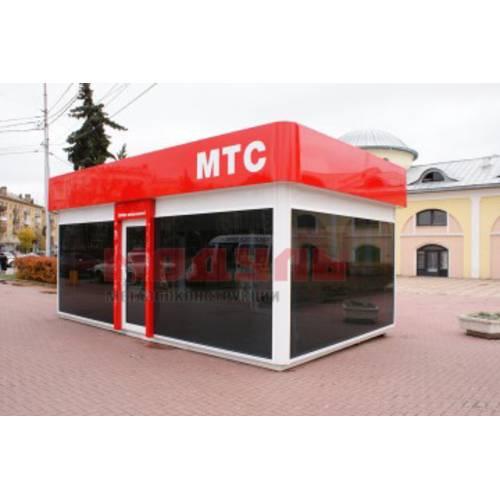 Торговый павильон размером 6х3х3 м